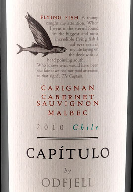 Capitulo Flying Fish ( Odfjell Vineyards ) 2015
