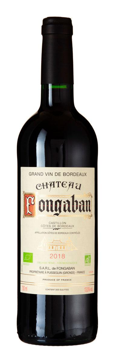 Castillon Côtes de Bordeaux ( Domaine Taix ) 2018