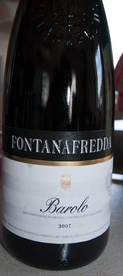 Barolo ( Fontanafredda ) 1999