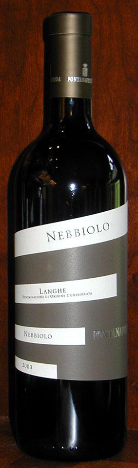 Langhe Nebbiolo ( Fontanafredda ) 2003