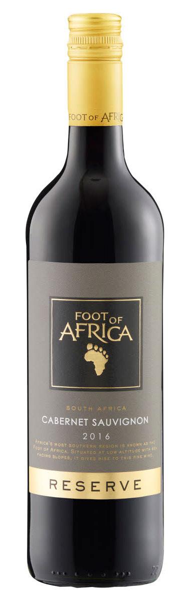 Foot of Africa Reserve Cabernet Sauvignon ( Kleine Zalze ) 2003