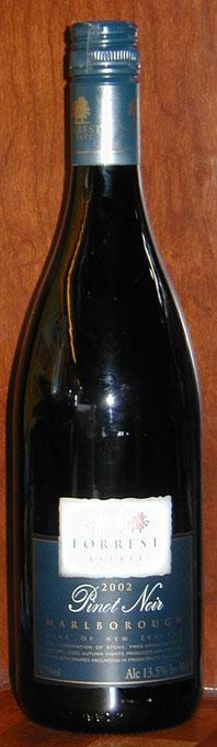 Pinot Noir ( Forrester Estate ) 2002