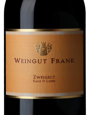 Frank Zweigelt Kalk and Loess ( Weingut Frank ) 2015