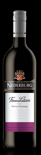 Foundation Shiraz Pinotage ( Nederburg ) 2012