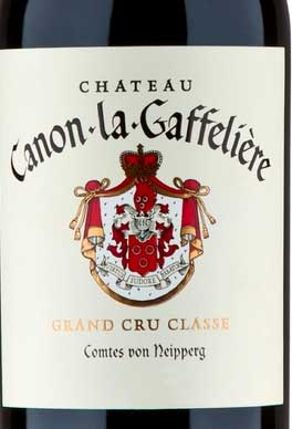 Château Canon La Gaffeliere ( Vignobles Comtes von Neipperg ) 2014