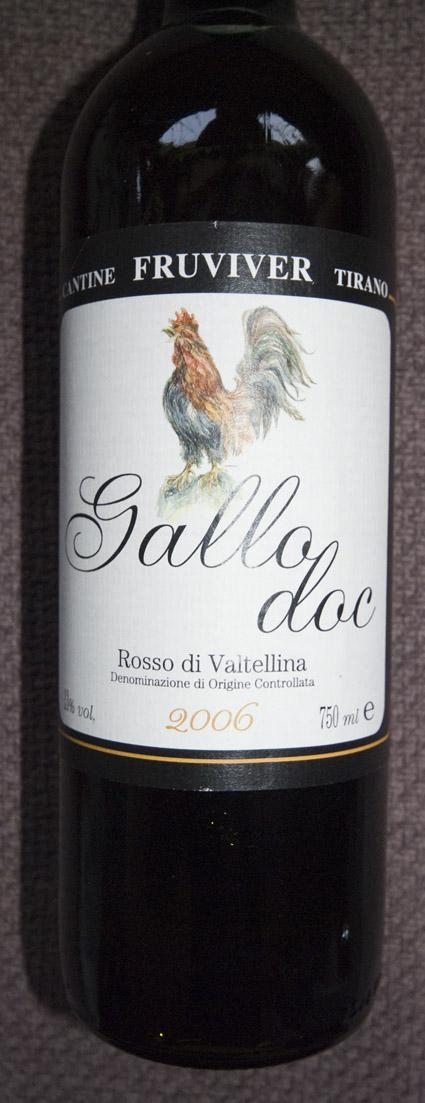 Fruviver Gallo Rosso di Valtellina ( Fruviver Valtellina ) 2006