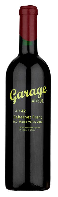 Maule Valley Cabernet Franc ( Garage Wine ) 2013