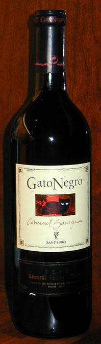 Gato Negro Cabernet Sauvignon ( Vina San Pedro ) 2002
