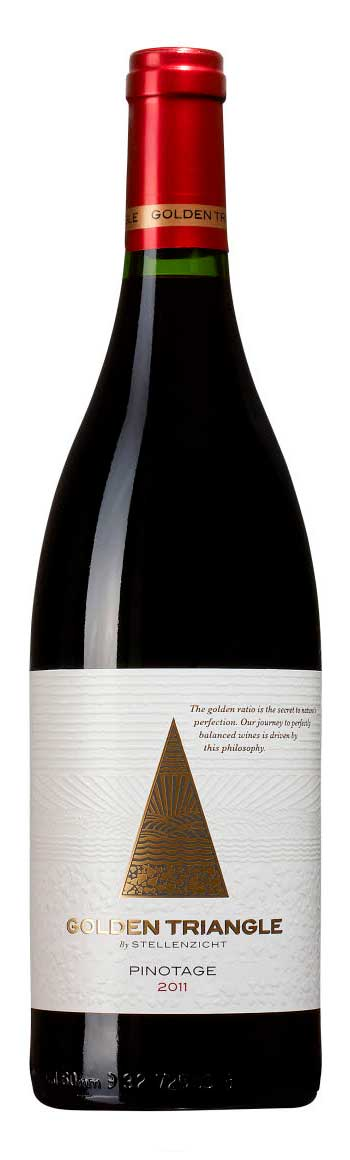 Golden Triangle Pinotage ( Stellenzicht ) 2004