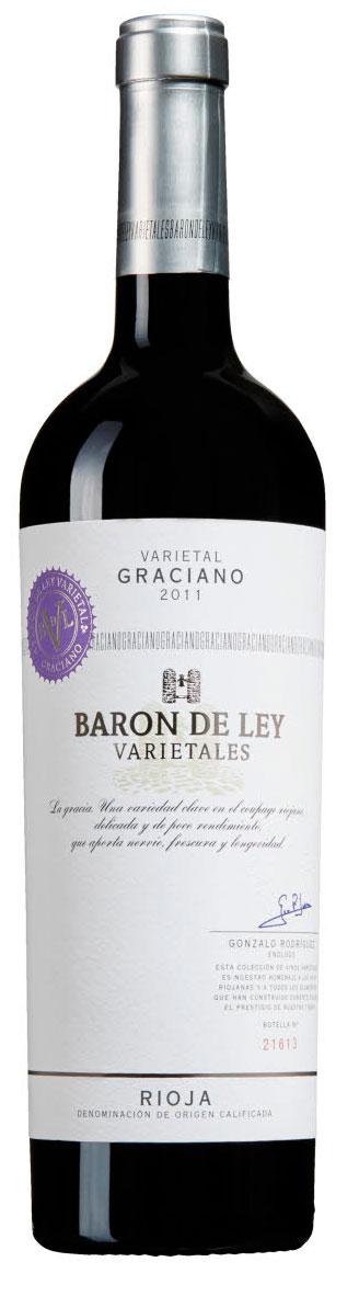 Varietales Graciano ( Barón de Ley ) 2011