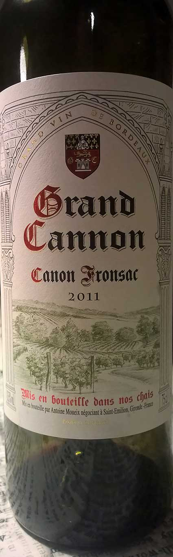 Grand Cannon ( Antoine Moueix ) 2011