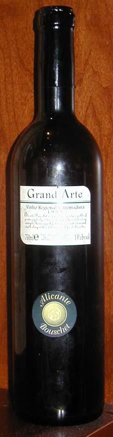 Grand`Arte Alicante Bouschet ( D.F.J. Vinhos ) 1999