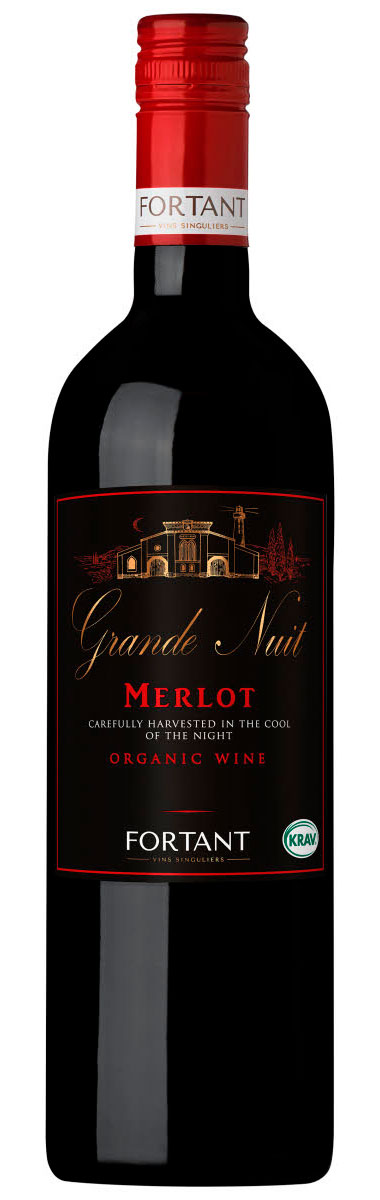 Grande Nuit Merlot ( Maison Fortant ) 2017