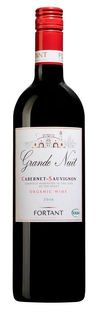 Grande Nuit Cabernet Sauvignon ( Maison Fortant ) 2018