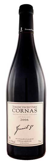 Cornas Granit 30 ( Vincent Paris ) 2008