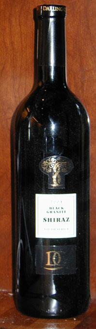 Black Granite Shiraz ( Darling Cellars ) 2005