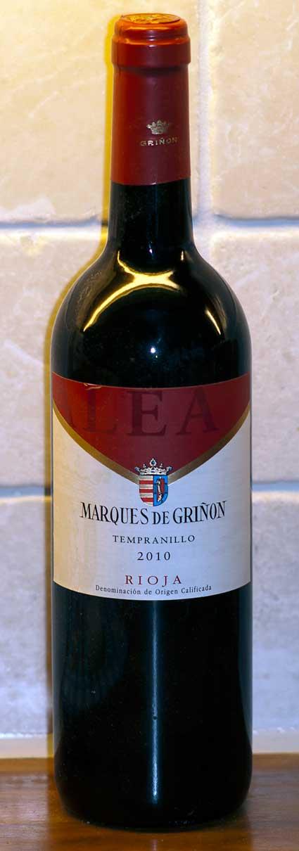 Tempranillo ( Marqués de Grinon ) 2004