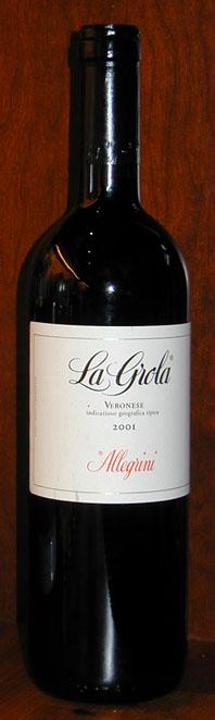 la Grola ( Allegrini ) 2001