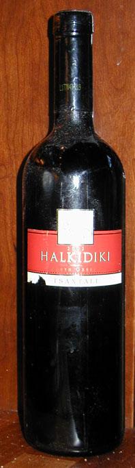 Halkidiki ( Tsantali ) 2002