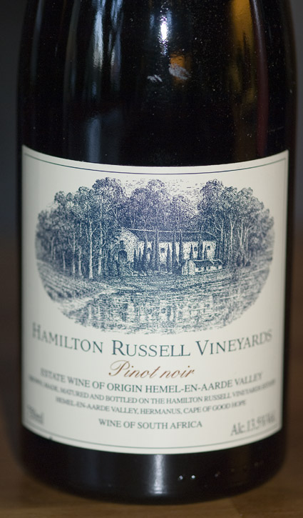 Pinot Noir ( Hamilton Russell Vineyards ) 2015