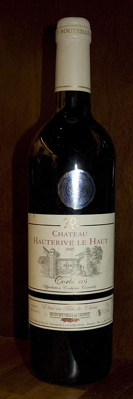 Corbieres Cuvée Tradition ( Château Hauterive Le Haut ) 2005