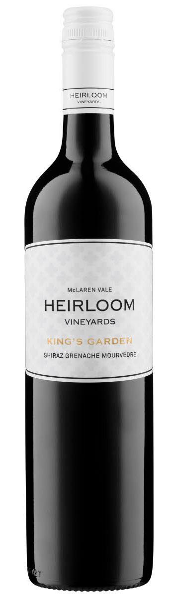 King`s Garden Shiraz Grenache Mourvèdre ( Heirloom Winery ) 2016