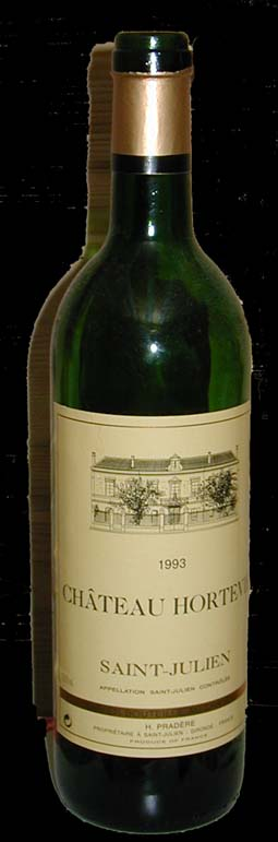 Chateau Hortevie ( saint-Julien ) 1993