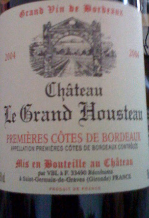 Château le Grand Housteau ( Château le Grand Housteau ) 2010
