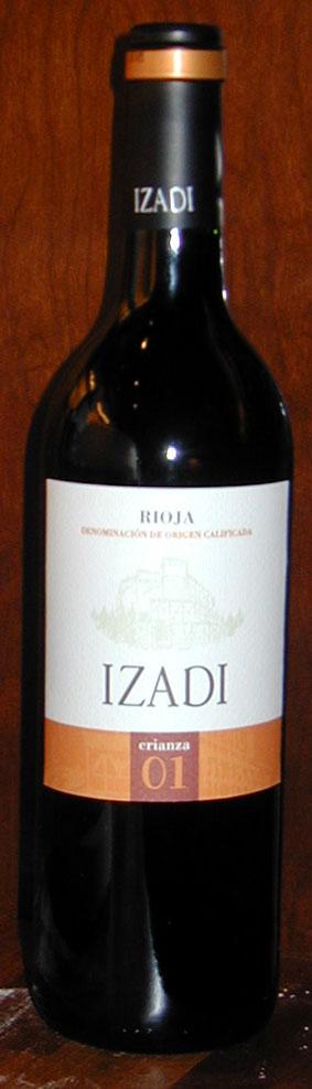 Izadi Crianza ( Bodegas Viña Villabuena ) 2000