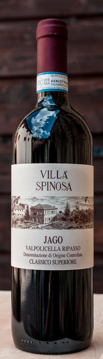 Valpolicella Classico Superiore Jago Ripasso ( Villa Spinosa ) 2012