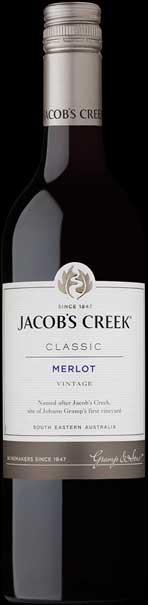 Jacob`s Creek Merlot ( Orlando Wines ) 2015