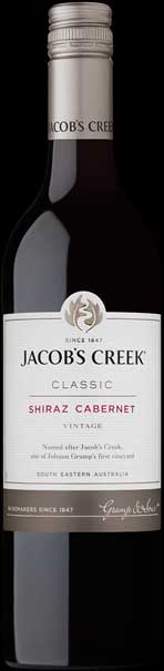 Jacob`s Creek Shiraz Cabernet ( Orlando Wines ) 2018