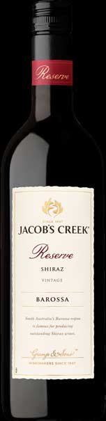 Jacob`s Creek Shiraz Reserve ( Orlando Wines ) 2015