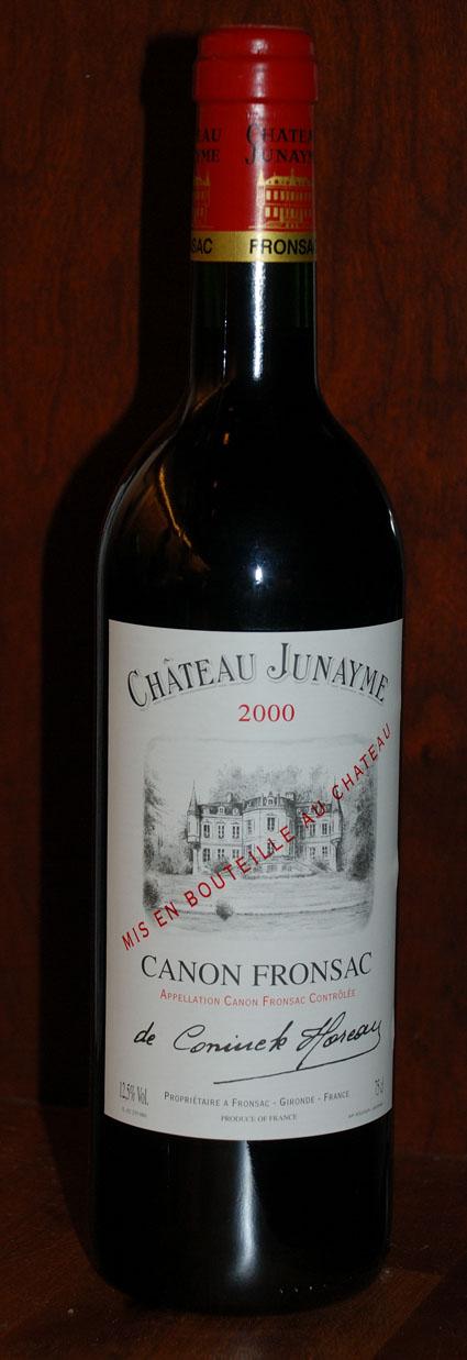 Chateau Junayme 2000