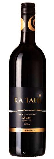 Syrah ( Ka Tahi Wines ) 2016