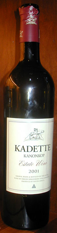 Kadette ( Kanonkop Wine Estate ) 2005
