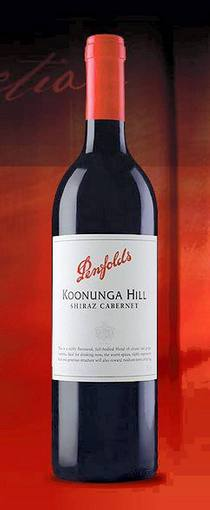 Koonunga Hill shiraz cabernet ( Penfolds Wines ) 2006