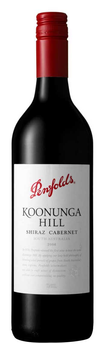 Koonunga Hill shiraz cabernet ( Penfolds Wines ) 2016