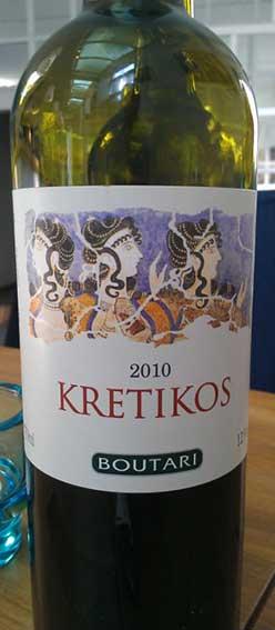 Kretikos ( Boutari Winery ) 2002