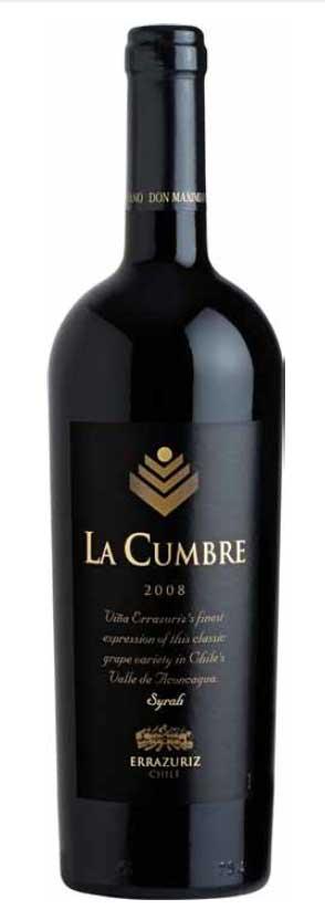 La Cumbre Syrah ( Errazuriz winery ) 2008