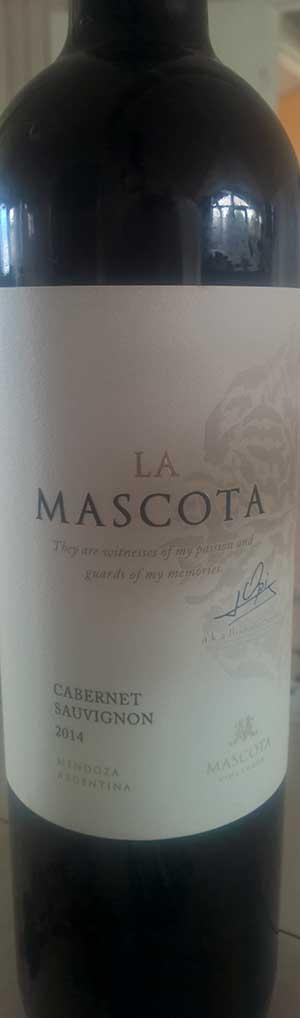 La Mascota Cabernet Sauvignon ( Mascota Vineyards ) 2014