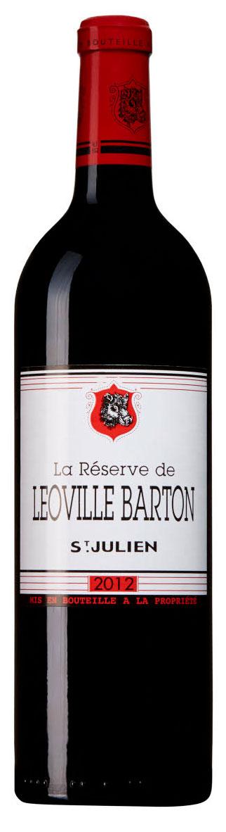 La Reserve de Leoville Barton ( Château Langoa et Léoville Barton ) 2012