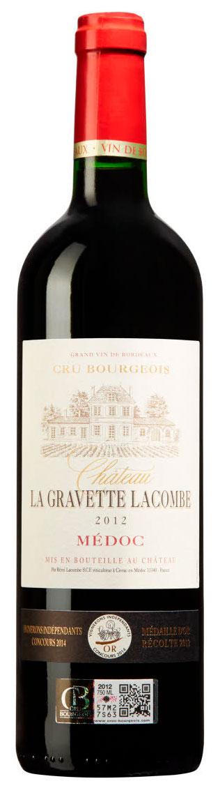 Château La Gravette Lacombe ( Vignobles Lacombe ) 2012