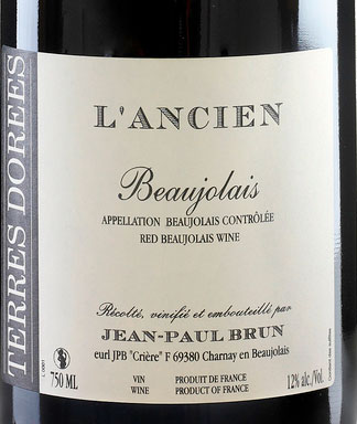 Beaujolais L`Ancien ( Jean-Paul Brun ) 2015