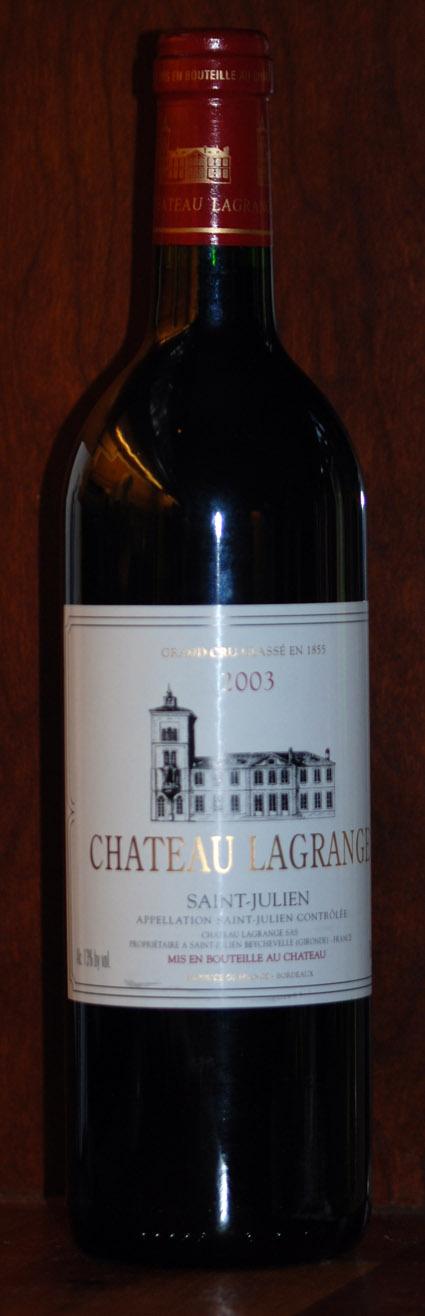 Château Lagrange ( Château Lagrange ) 2003
