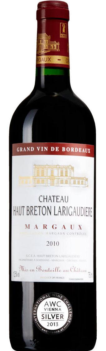 Château Haut Breton Largaudière ( SCEA Haut Breton Larigaudière ) 2010