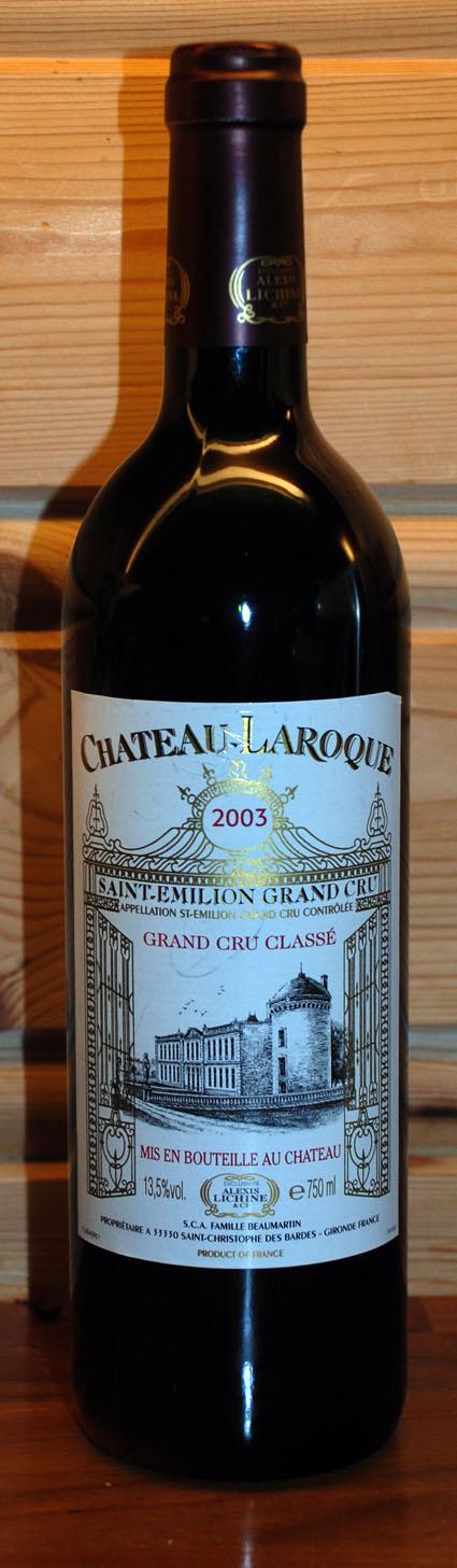 Château Laroque ( Château Laroque ) 2003