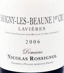 Savigny-les-Beaune 1er Cru Les Lavières ( Domaine Nicolas Rossignol ) 2010