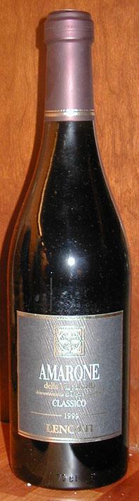 Amarone Classico ( Lenotti ) 1999