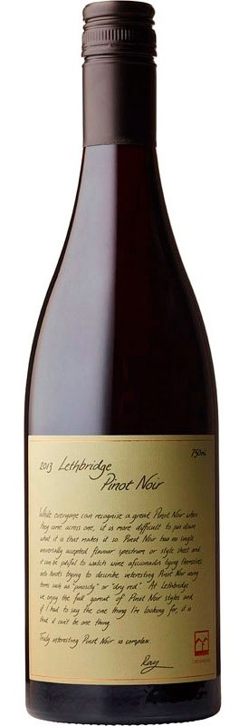 Pinot Noir ( Lethbridge Wines ) 2017